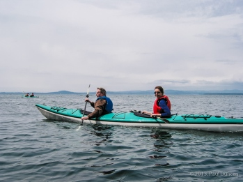 Tandem Kayaking, San Juan Island, Washington