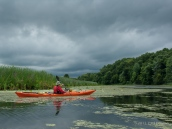 A Storm Approaches As We Kayak East Bay, NY