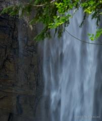 Taughannock Falls close up