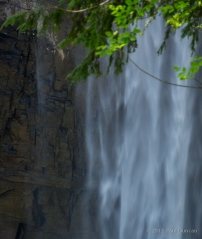 Taughannock Falls close up