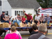 Old Home Days Grand Marshal float