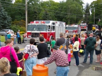 local fire trucks on parade