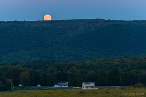 Moonrise over Sunnyview Acres