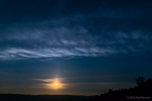 Newfield Moonrise