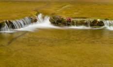small waterfall on Taughannock Creek