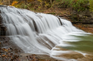 Enfield Creek waterfall, Robert H. Treman park