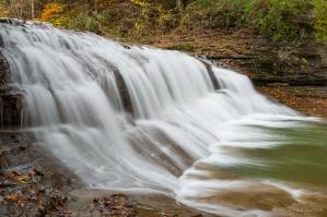 Enfield Creek waterfall, Robert H. Treman park