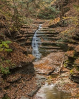 Waterfall on Lick Brook, Sweedler Preserve