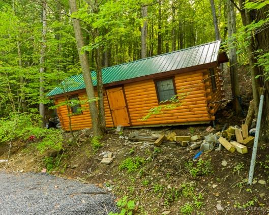 Cockeyed cabin