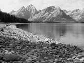 Tetons and Jackson Lake from Donoho Point