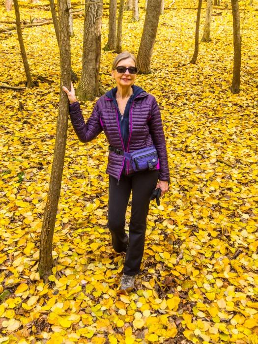 Lori at Sweedler Preserve