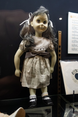"From the ""Living Doll"" episode of the Twilight Zone, this doll is among a large collection of Rod Serling memorabilia at the Bundy Museum. Serling was born in Syracuse NY but spent most of his youth in Binghamton NY."