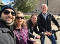 We tried our hand at electric scooters, terrorizing the back streets and alleys of northern Dallas.