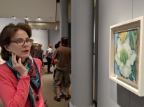 Georgia O'Keefe's Hawaiian paintings were on display at the New York Botancal Garden