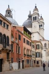 Approaching Santa Maria Della Salute