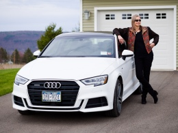 Lori and Her New Audi A3
