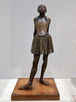 """The Little Fourteen-Year-Old Dancer"" by Edgar Degas"