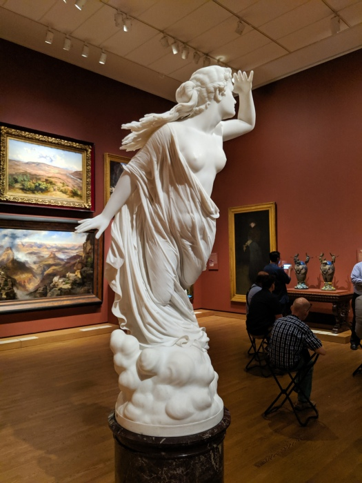 """""""The Lost Pleiad"""" by Randolph Rogers"""